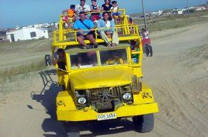Camión para El Polonio