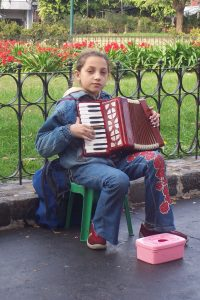 Accordion player, Buenos Aires, Argentina