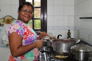 Cooking Dinner, Niteroi, Brazil
