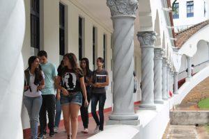 Students at Pontifícia Universidade Católica de Minas Gerais, Belo Horizonte, Brazil
