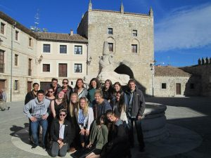 Student Excursion, Burgos, Spain