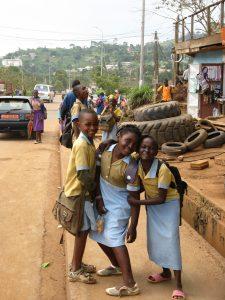Students, Yaoundé, Cameroon