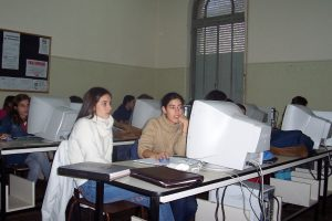Students at the Universidad Católica del Uruguay