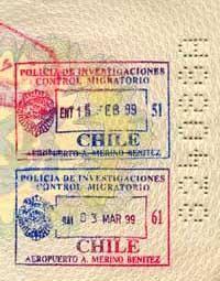HB - Visa Stamp
