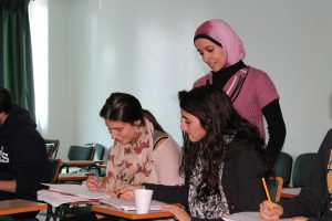 Students in Class, Amman, Jordan