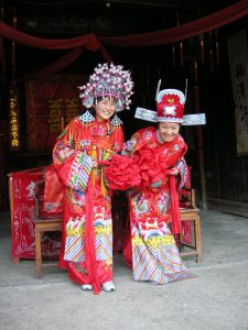 Women in Traditional Costume, Hangzhou, China