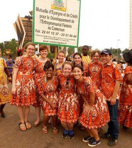Celebrating International Women's Day, Yaoundé, Cameroon